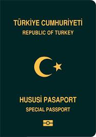 Yeşil Pasaport Örneği