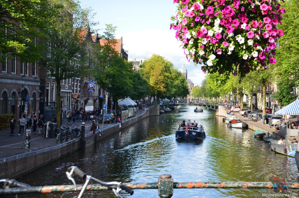 Amsterdam Su Kanalları