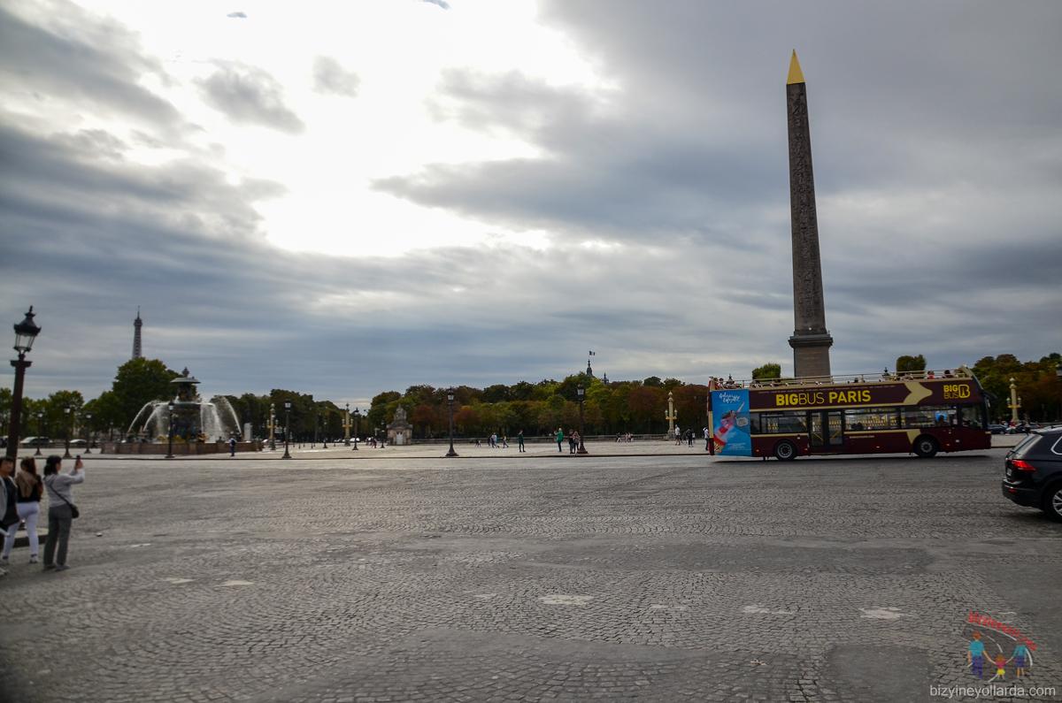 Paris Concorde Meydanı