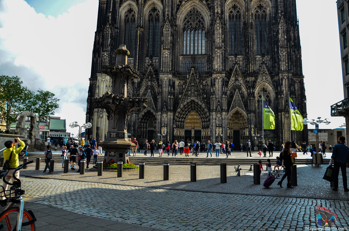 Dom Katedrali Köln Almanya