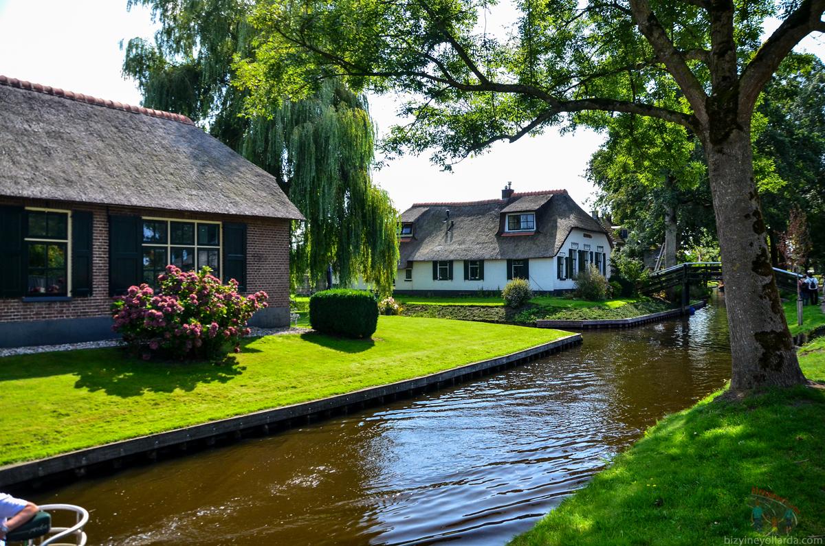 Hollanda Giethoorn Turu