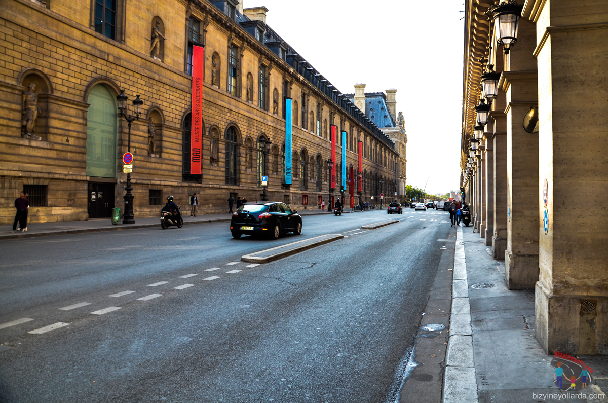 Paris Cadde ve Sokakları