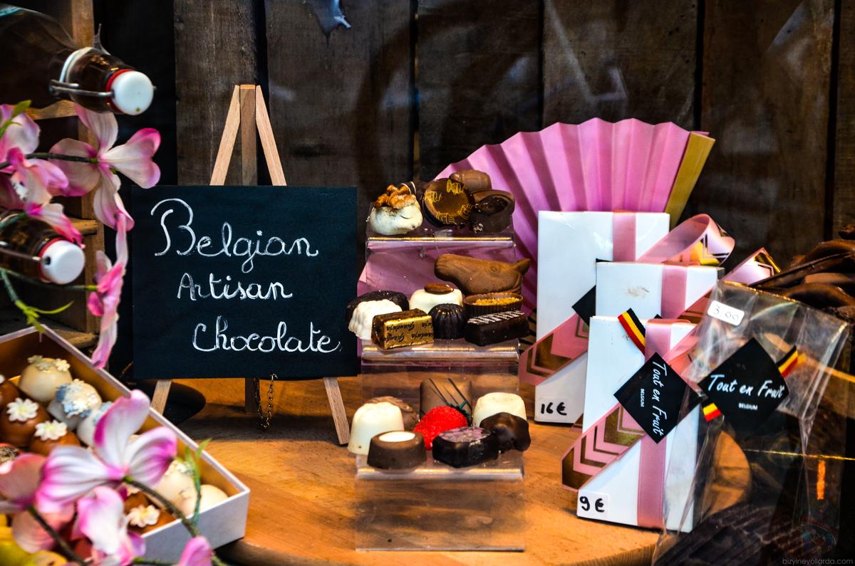 El Yapımı Belçika Çikolata