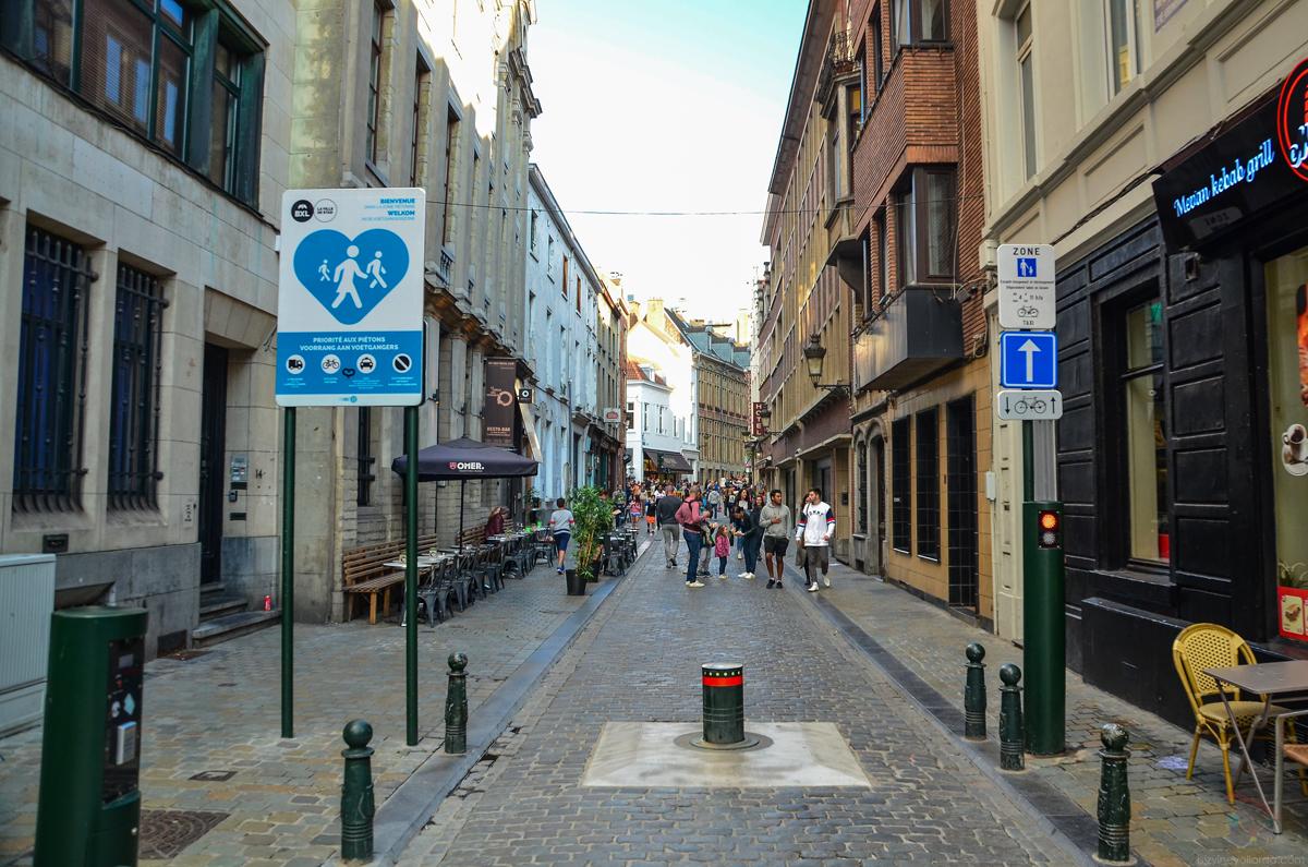 Brüksel Cadde ve Sokakları