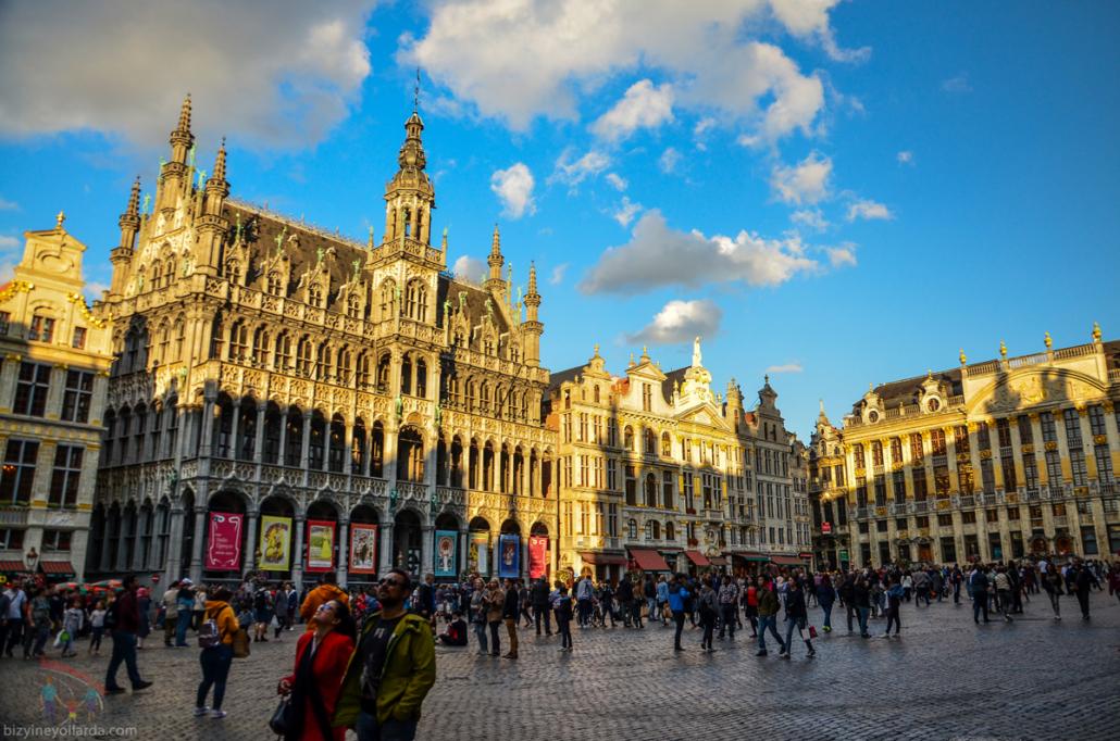 Brüksel Grand Palas Meydanı