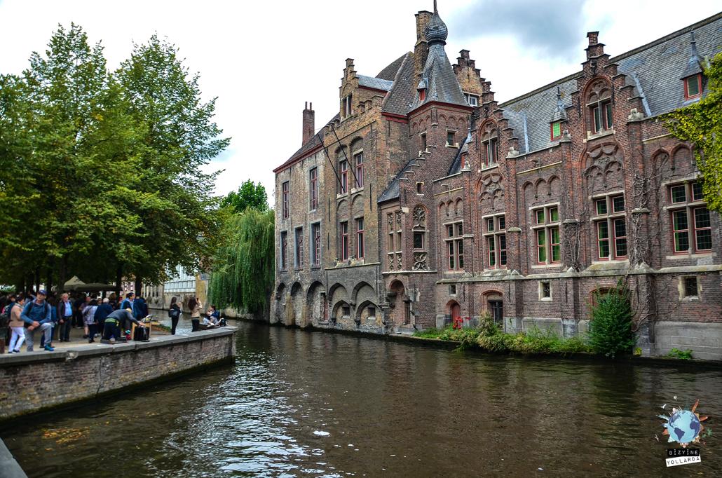 Brugge Su Kanalları