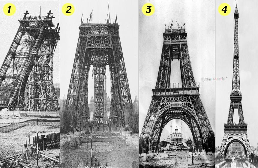 Eyfel Kulesi İnşaatı