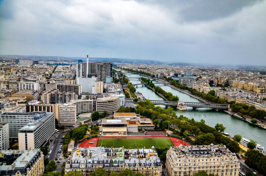 Eyfel Kulesinden 360 Derece Paris Manzarası