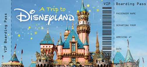 Paris Disneyland Bileti