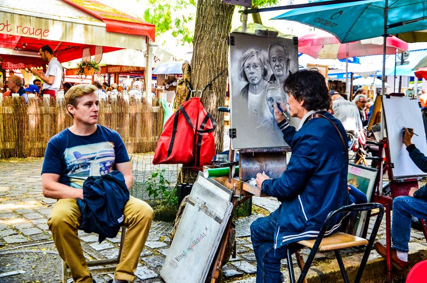 Paris Ressamlar Tepesi - Montmartre