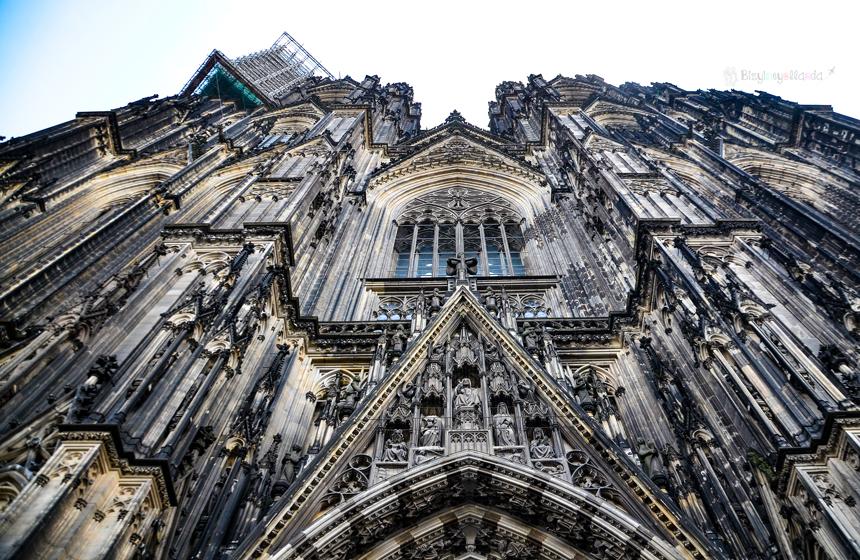 Köln Dom Katedrali Ön Taraf