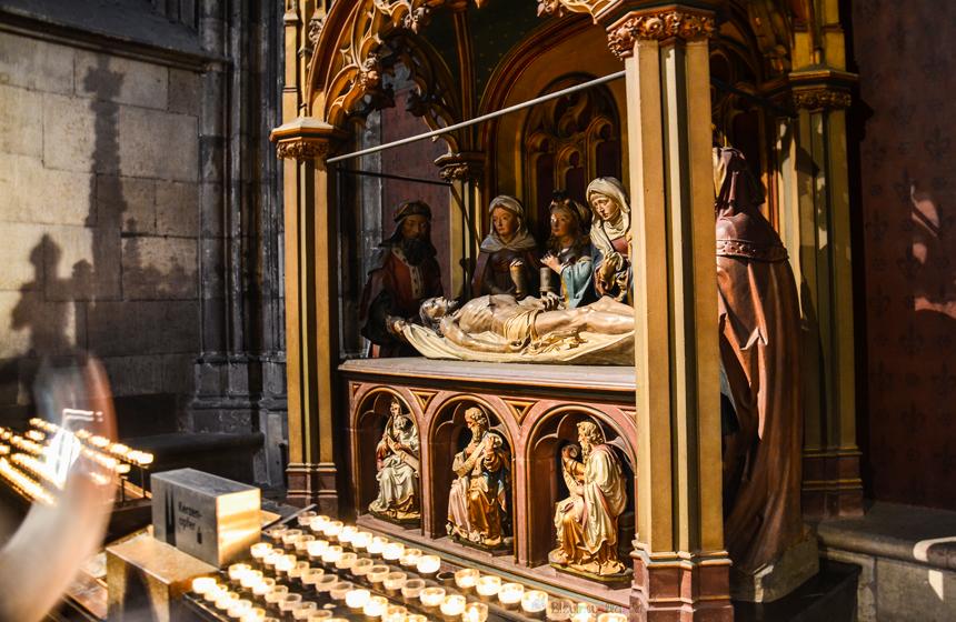 Köln Katedrali Hz. İsa Tasviri