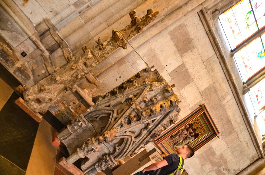 Köln Dom Katedrali İç Kısım Tarihi Kule Taçları