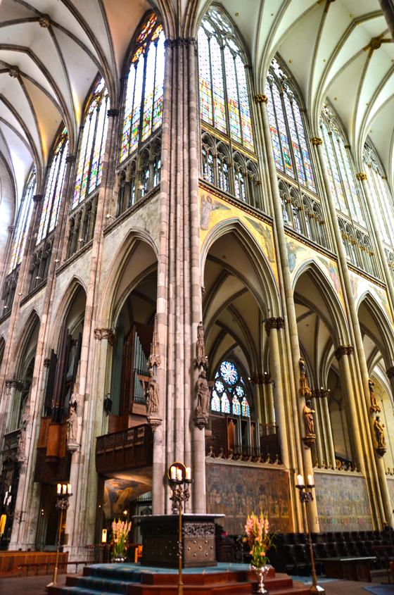 Köln Katedrali İç Kısım Orta Alan