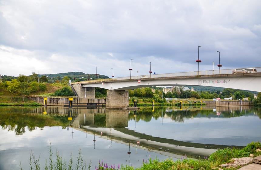 Lüksemburg Remich Schengen Moselle Nehri