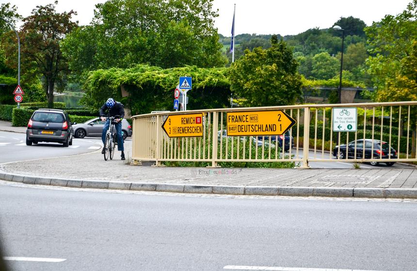 Remich Schengen'de Almanya ve Fransa Sınır Hattı