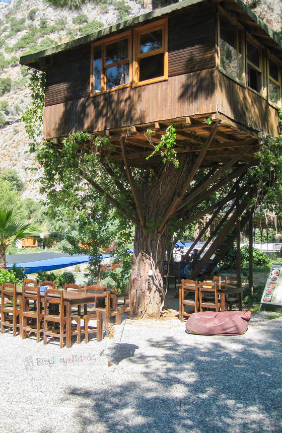 Saklıkent Konaklama Ağaç Ev