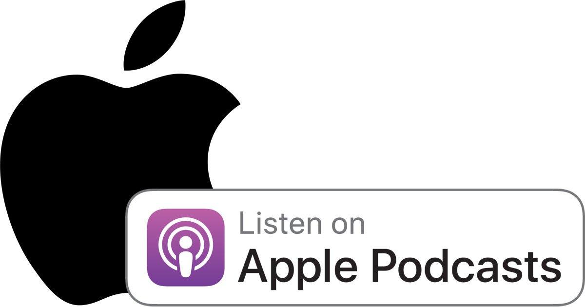 Itunes üzerinden dinleyebileceğimiz apple podcast yayınlarının logosu.