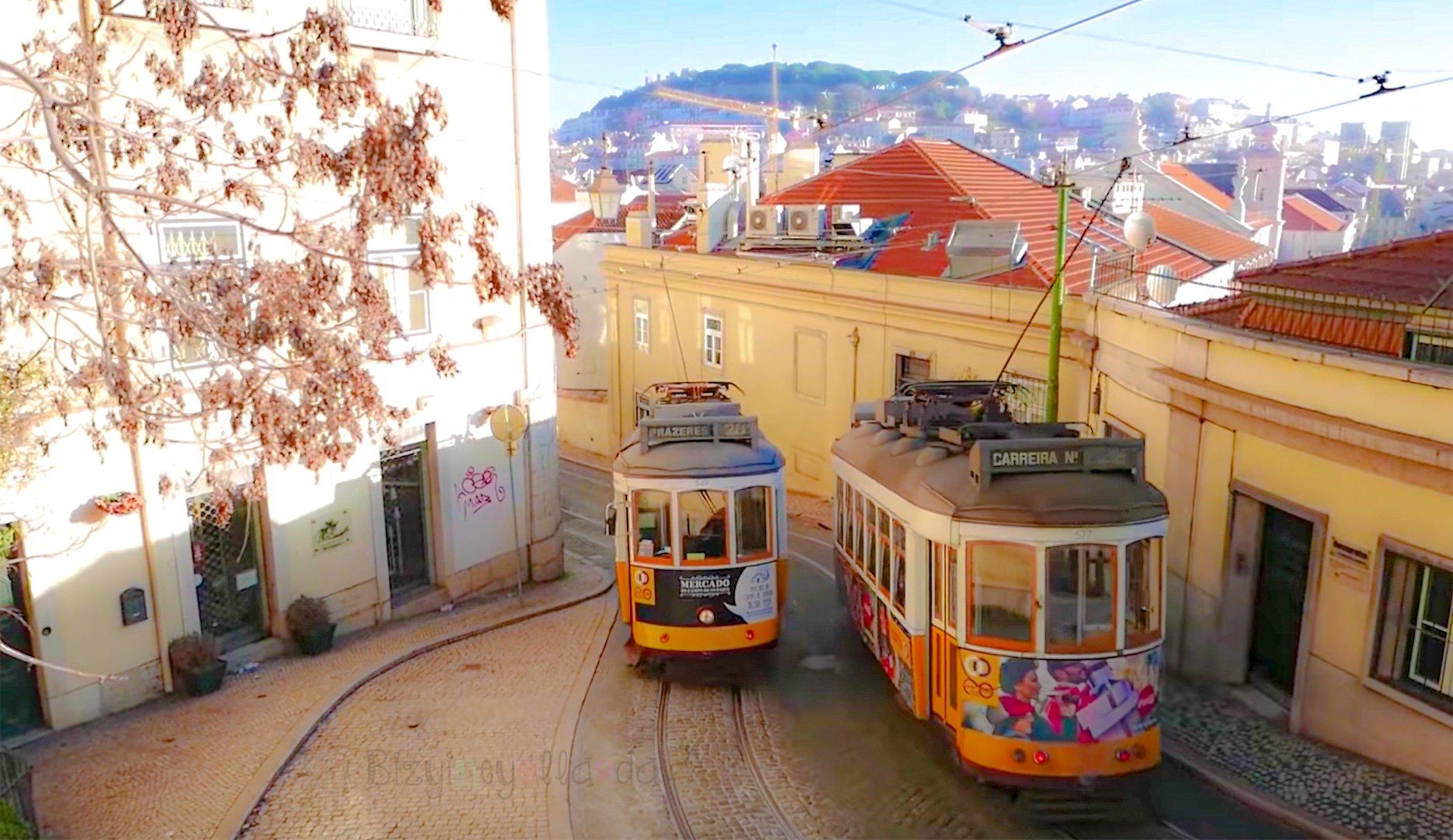 Nostaljik Lizbon Tramvayı