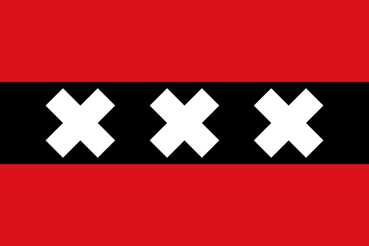 Amsterdam eyalet bayrağı